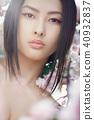 woman spring portrait 40932837