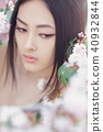 woman spring portrait 40932844