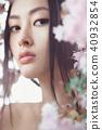 woman spring portrait 40932854