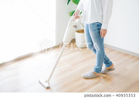 여성 청소기 40935353