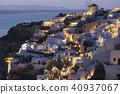 聖托里尼島夜景 40937067