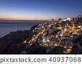 เกาะ Santorini คืนมุมมอง 40937068
