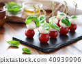 방울 토마토, 토마토, 바실리코 40939996