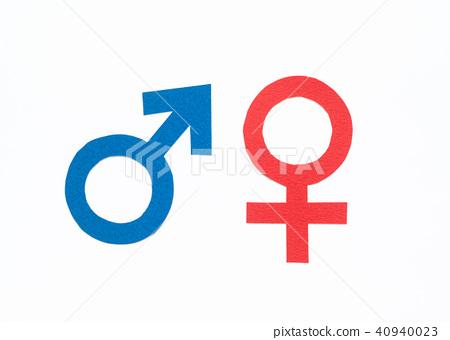 수컷 암컷 마크 기호 여성 남성 남녀 ♂ ♀ 40940023