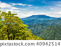 산, 신록, 여름 40942514