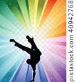 Hip hop dancer 40942768