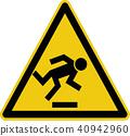 warning, danger, sign 40942960