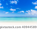 Summer image Sea, beach, blue sky 40944589