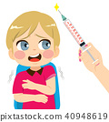 Scared Boy Injection 40948619