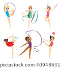 Gymnastic Girl Collection 40948631