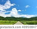 blue sky, summer, mountain 40950847