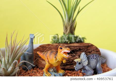 Dinosaur's diorama 40953761