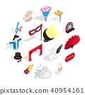 theatre, icons, set 40954161