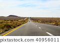 Long road through the desert 40956011