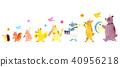 動物鼓鼓戰鬥機 40956218