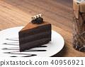 Dark chocolate cake 40956921