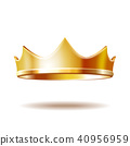 crown, gold, isolated 40956959