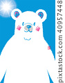 summer, bear, polar 40957448