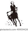 騎馬 馬 馬兒 40959428