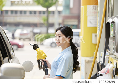 Part-time job, gas station 40960899