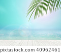 Background - Tropical - sea - sky 40962461