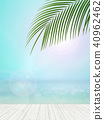 Background - Tropical - sea - sky 40962462