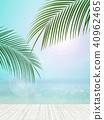 Background - Tropical - sea - sky 40962465