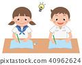 중학생, 여자, 여성 40962624