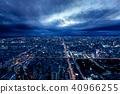 night scape, night scene, night scenery 40966255