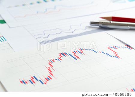 자산 운용 투자 신탁 차트 촛대 데이터 40969289