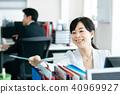 業務場景中間女性 40969927