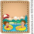 parchment, child, children 40970056