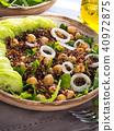 quinoa, salad, vegetable 40972875