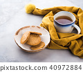 Winter comfort food concept with tea 40972884