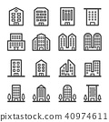 building line icon 40974611