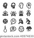 depression icon 40974630