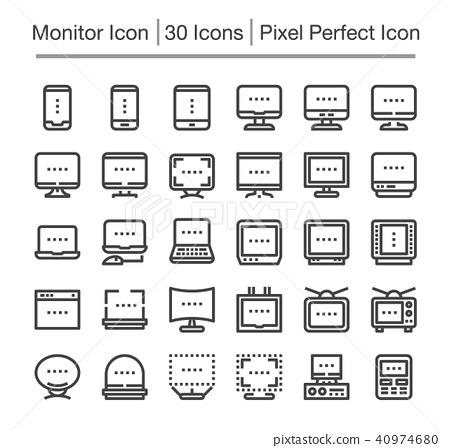 monitor icon 40974680