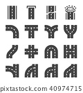 road icon 40974715