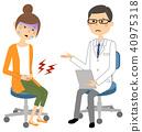 의사, 진찰, 문진 40975318