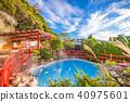 Oita, Japan hot springs. 40975601