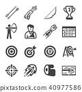 archery icon 40977586
