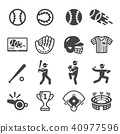 baseball icon 40977596
