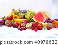fruit, colorful, copyspace 40978632