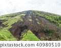 mountain, aso, mount aso 40980510