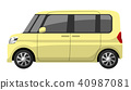 รถยนต์: minicar 40987081