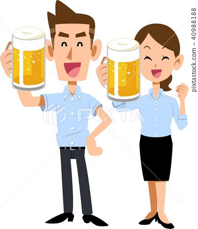 啤酒 淡啤酒 吐司 40988188