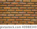 close up brick wall 40988340