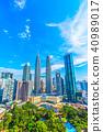 말레이시아 쿠알라 룸푸르의 거리 풍경 40989017