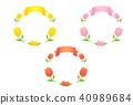 튤립, 꽃, 플라워 40989684