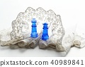 Chess pieces · King and Queen 40989841